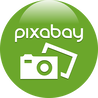 Illustration of Pixabay Logo
